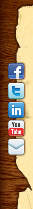 facebook, twitter, linkedin, youtube, email
